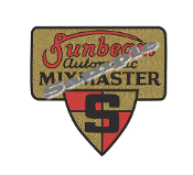 old mixmaster logo decal