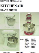 KitchenAid Multi Model Color Service - Repair Manual Download