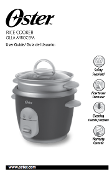 Oster Model #4722 6 qt Rice Cooker Manual (Download)